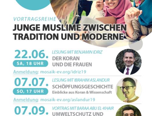 Vortragsreihe: Junge Muslime zwischen Tradition und Moderne